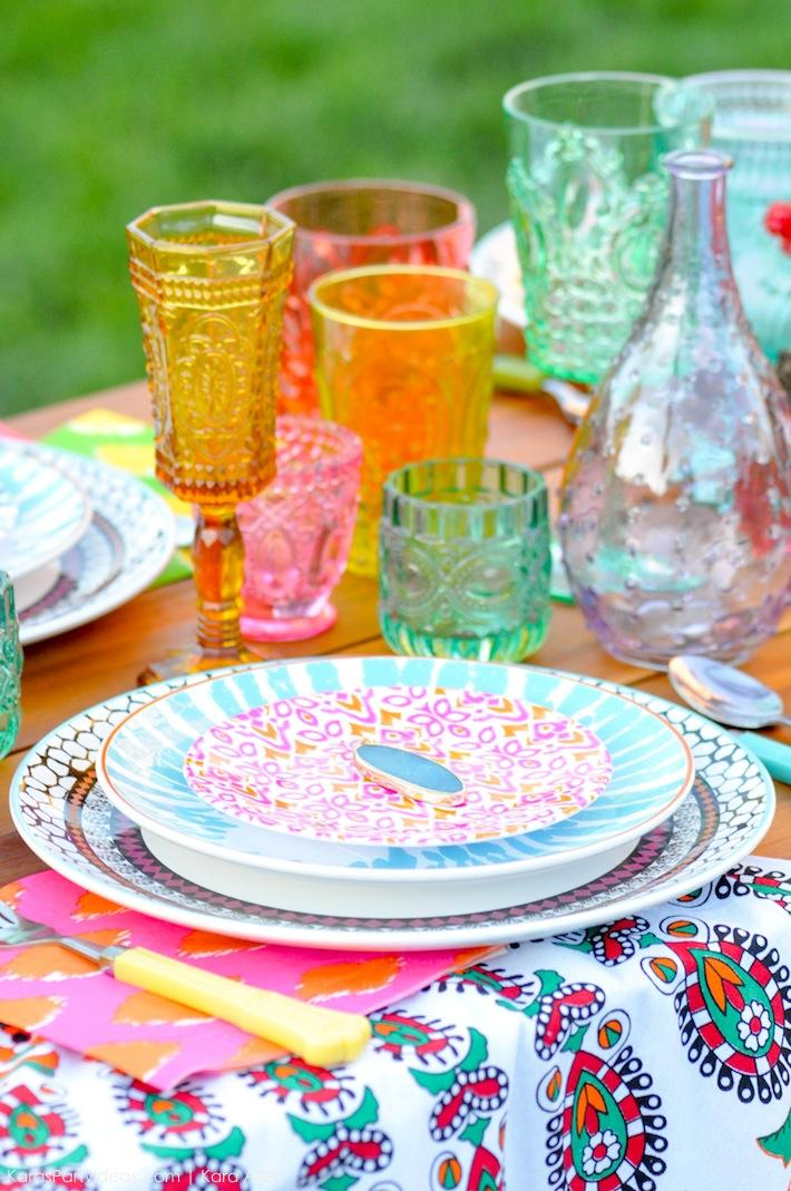 Backyard Boho Tiki Party by Kara's Party Ideas | Kara Allen | KarasPartyIdeas.com-8