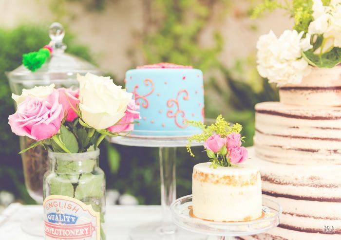 Cakes from a Bohemian Gypsy Birthday Party via Kara's Party Ideas KarasPartyIdeas.com (25)