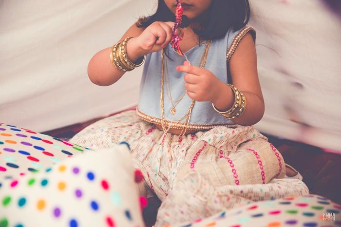 Little Girl from a Bohemian Gypsy Birthday Party via Kara's Party Ideas KarasPartyIdeas.com (38)