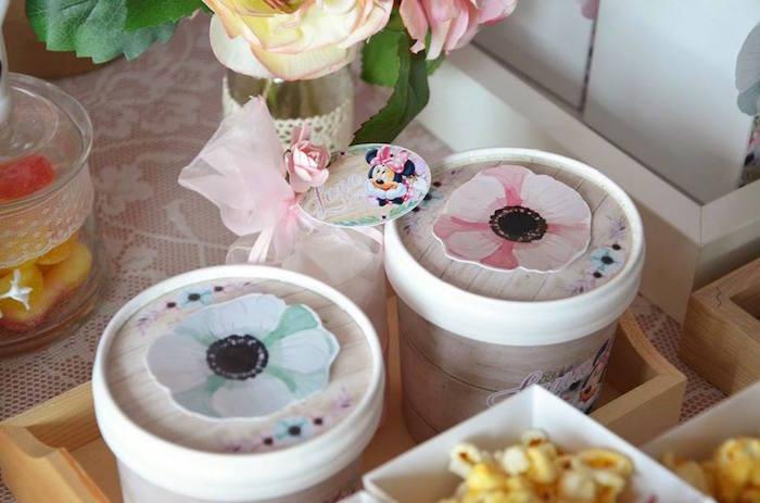Favors from a Boho Chic Minnie Mouse Birthday Party via Kara's Party Ideas KarasPartyIdeas.com (20)