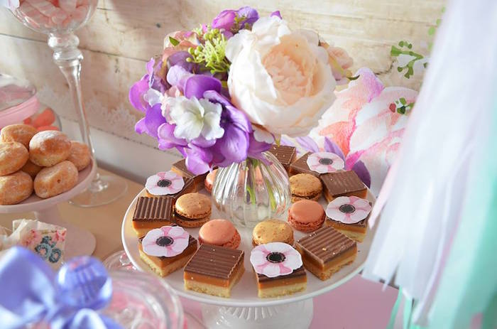 Sweets from a Boho Chic Minnie Mouse Birthday Party via Kara's Party Ideas KarasPartyIdeas.com (6)