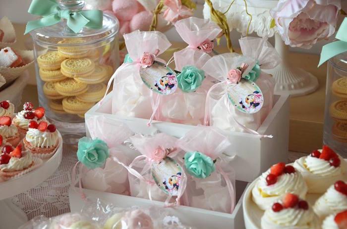 Mini Favor Sacks from a Boho Chic Minnie Mouse Birthday Party via Kara's Party Ideas KarasPartyIdeas.com (27)