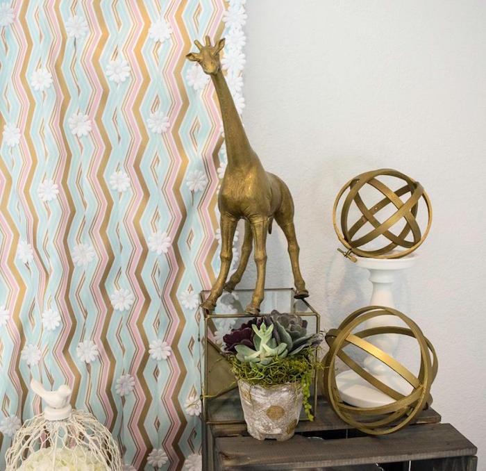 Decorations from a Boho Safari Baby Shower via Kara's Party Ideas | KarasPartyIdeas.com (10)