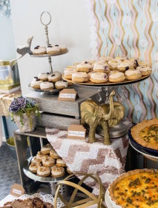 Sweets + Decor from a Boho Safari Baby Shower via Kara's Party Ideas | KarasPartyIdeas.com (20)