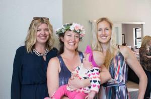 Mom-to-Be & Guests from a Boho Safari Baby Shower via Kara's Party Ideas | KarasPartyIdeas.com (18)