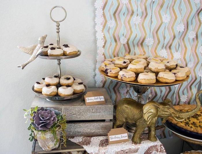 Sweets + Decor from a Boho Safari Baby Shower via Kara's Party Ideas | KarasPartyIdeas.com (17)