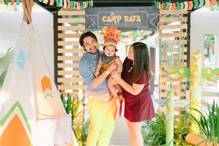 Birthday Boy Parents From A Camp Rafa