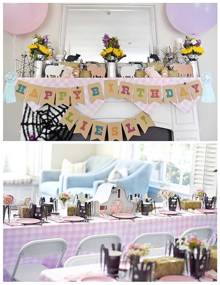 Details from a Charlotte's Web Inspired Birthday Party via Kara's Party Ideas | KarasPartyIdeas.com - The Place for All Things Party! (24)