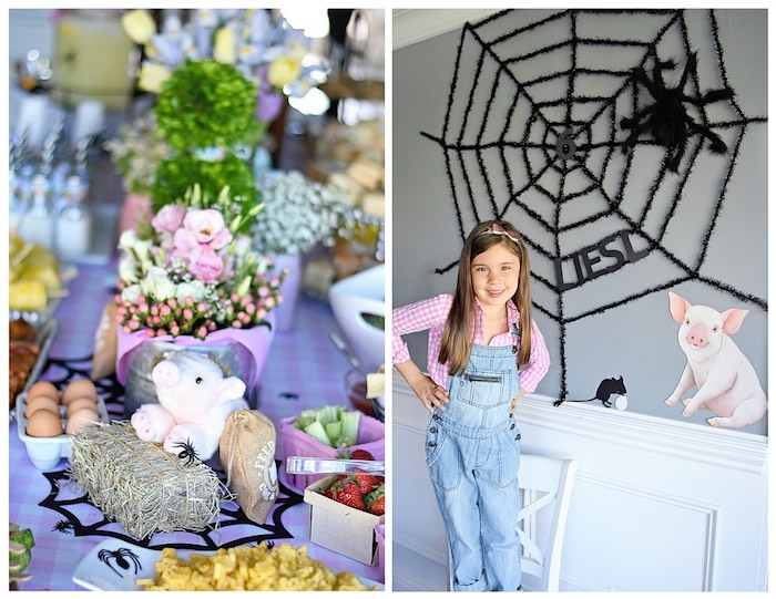Details from a Charlotte's Web Inspired Birthday Party via Kara's Party Ideas | KarasPartyIdeas.com - The Place for All Things Party! (15)