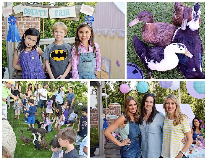 Farmyard Fun from a Charlotte's Web Inspired Birthday Party via Kara's Party Ideas | KarasPartyIdeas.com - The Place for All Things Party! (2)