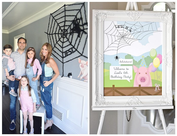 Details + Images from a Charlotte's Web Inspired Birthday Party via Kara's Party Ideas | KarasPartyIdeas.com - The Place for All Things Party! (32)