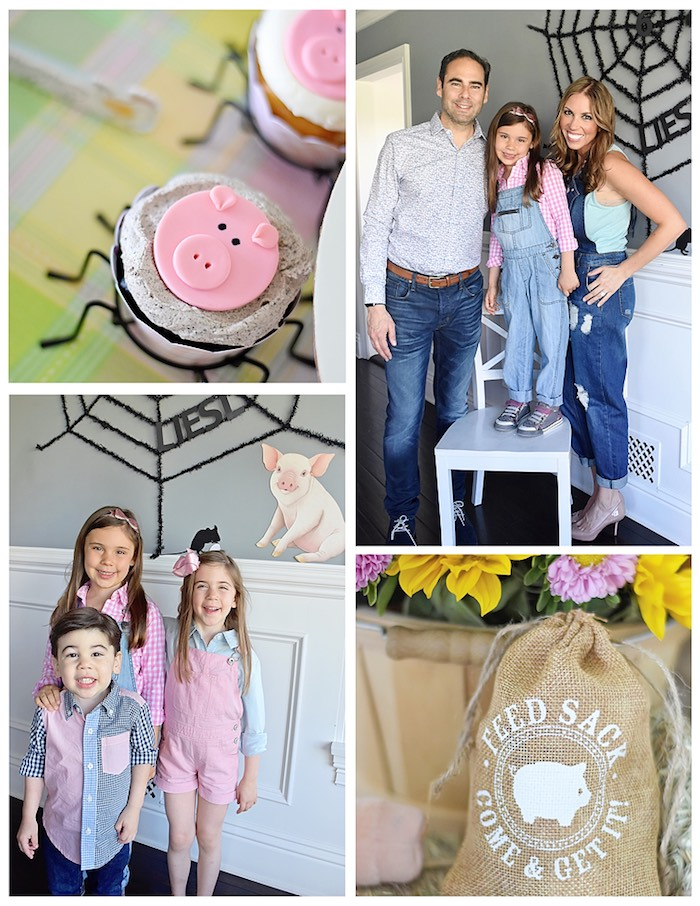 Images from a Charlotte's Web Inspired Birthday Party via Kara's Party Ideas | KarasPartyIdeas.com - The Place for All Things Party! (27)