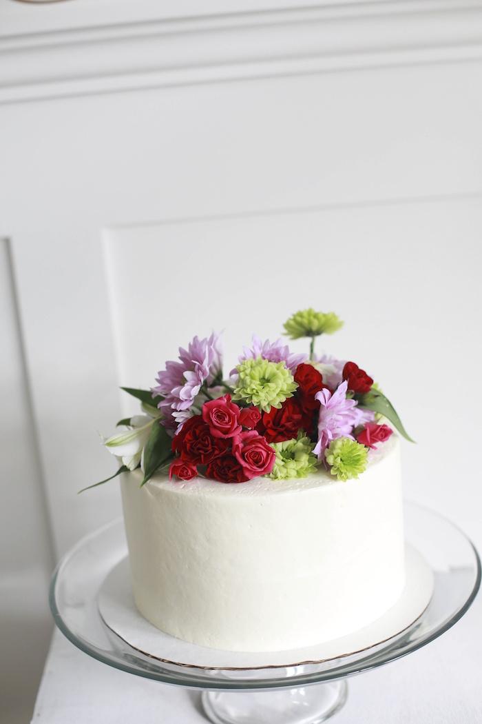 Cake from a Chic Cinderella Themed Birthday Party via Kara's Party Ideas - KarasPartyIdeas.com (11)