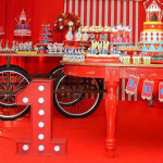 Party Display from a Circus Birthday Party via Kara's Party Ideas - KarasPartyIdeas.com (1)
