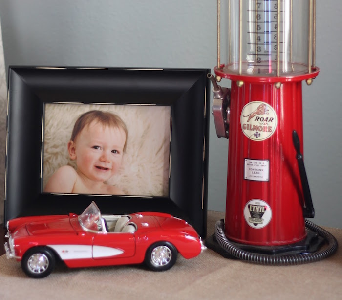 Decor from a Classic Car Garage Birthday Party via Kara's Party Ideas | KarasPartyIdeas.com (9)