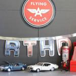 Details from a Classic Car Garage Birthday Party via Kara's Party Ideas | KarasPartyIdeas.com (1)