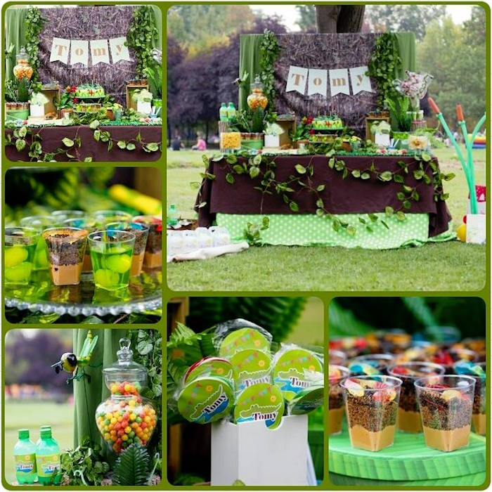 Details from a Crocodiles & Insects Birthday Party via Kara's Party Ideas - KarasPartyIdeas.com (2)