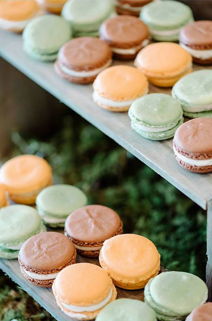 Macarons from an Enchanted Woodland Forest Birthday Party via Kara's Party Ideas | KarasPartyIdeas.com - The Place for All Things Party! (23)