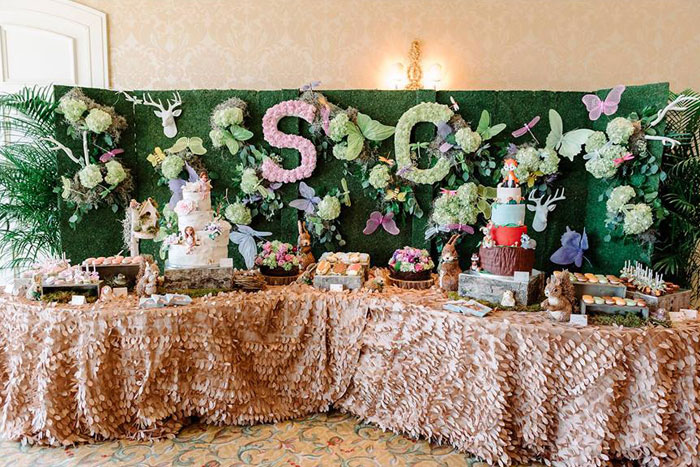 Sweet Tables from an Enchanted Woodland Forest Birthday Party via Kara's Party Ideas | KarasPartyIdeas.com - The Place for All Things Party! (16)