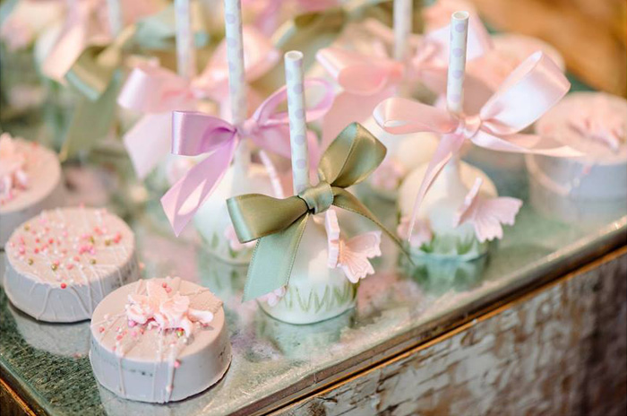 Covered Oreos + Cake Pops from an Enchanted Woodland Forest Birthday Party via Kara's Party Ideas | KarasPartyIdeas.com - The Place for All Things Party! (13)