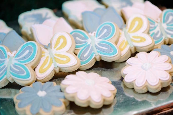Cookies from an Enchanted Woodland Forest Birthday Party via Kara's Party Ideas | KarasPartyIdeas.com - The Place for All Things Party! (11)