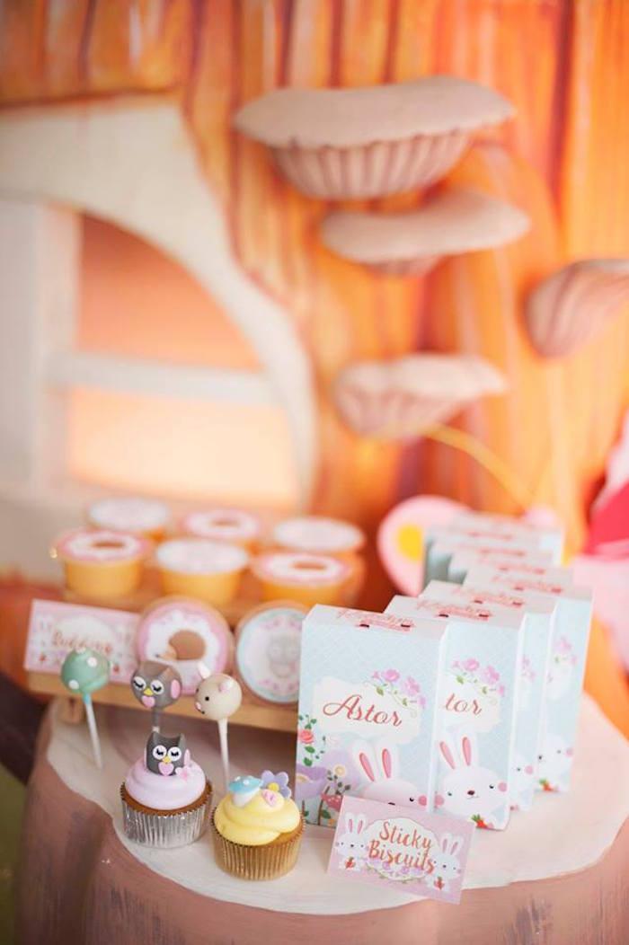 Sweets + Favors from a Fairy Garden Birthday Party via Kara's Party Ideas KarasPartyIdeas.com (10)