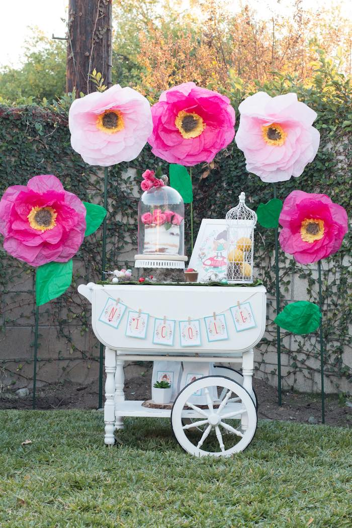 Kara S Party Ideas Magical Fairy Garden Birthday Party Kara S