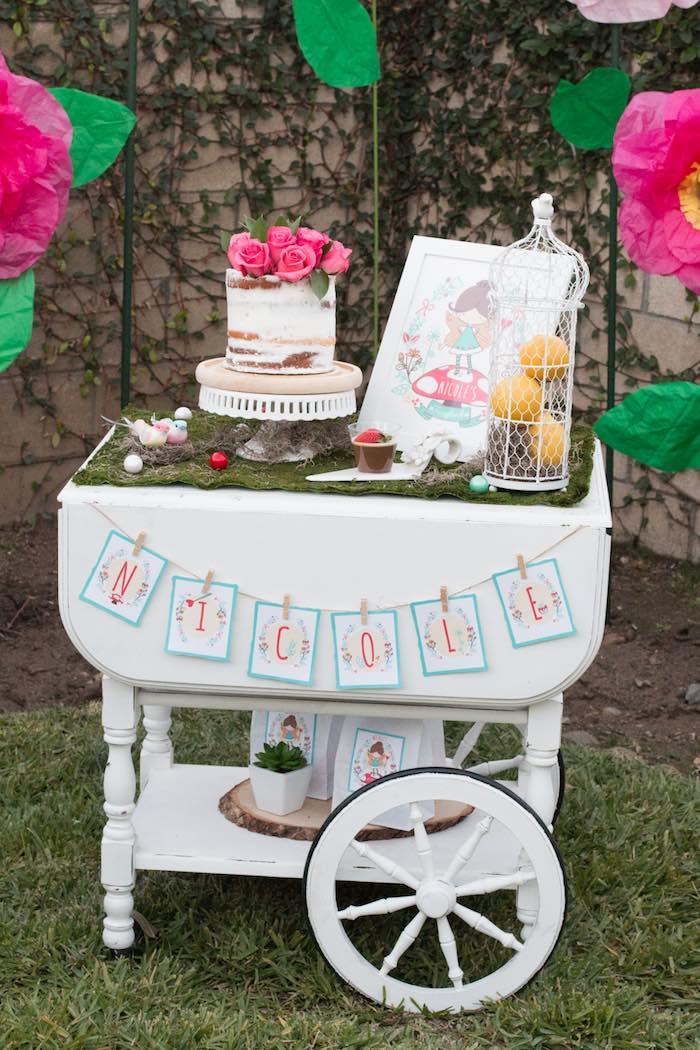 Secret Garden: Kara's Party Ideas Magical Fairy Garden Birthday Party