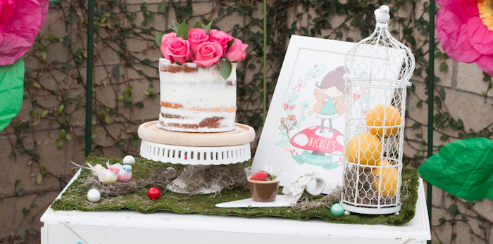 Details from a Fairy Garden Birthday Party via Kara's Party Ideas | KarasPartyIdeas.com (2)