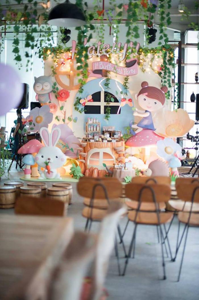 Details from a Fairy Garden Birthday Party via Kara's Party Ideas KarasPartyIdeas.com (17)