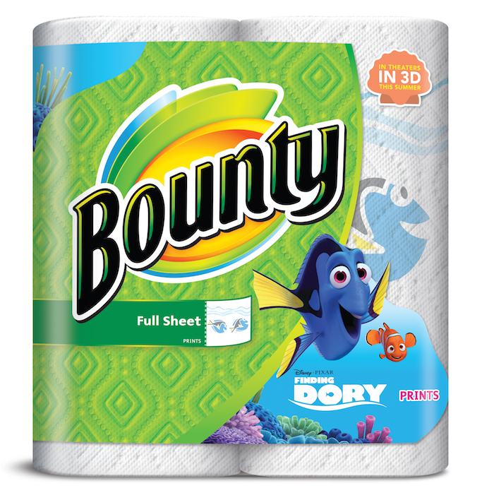 Bounty Full Sheet Paper Towels Giant Rolls: Kara's Party Ideas Finding Dory Birthday Party Ideas + DIY