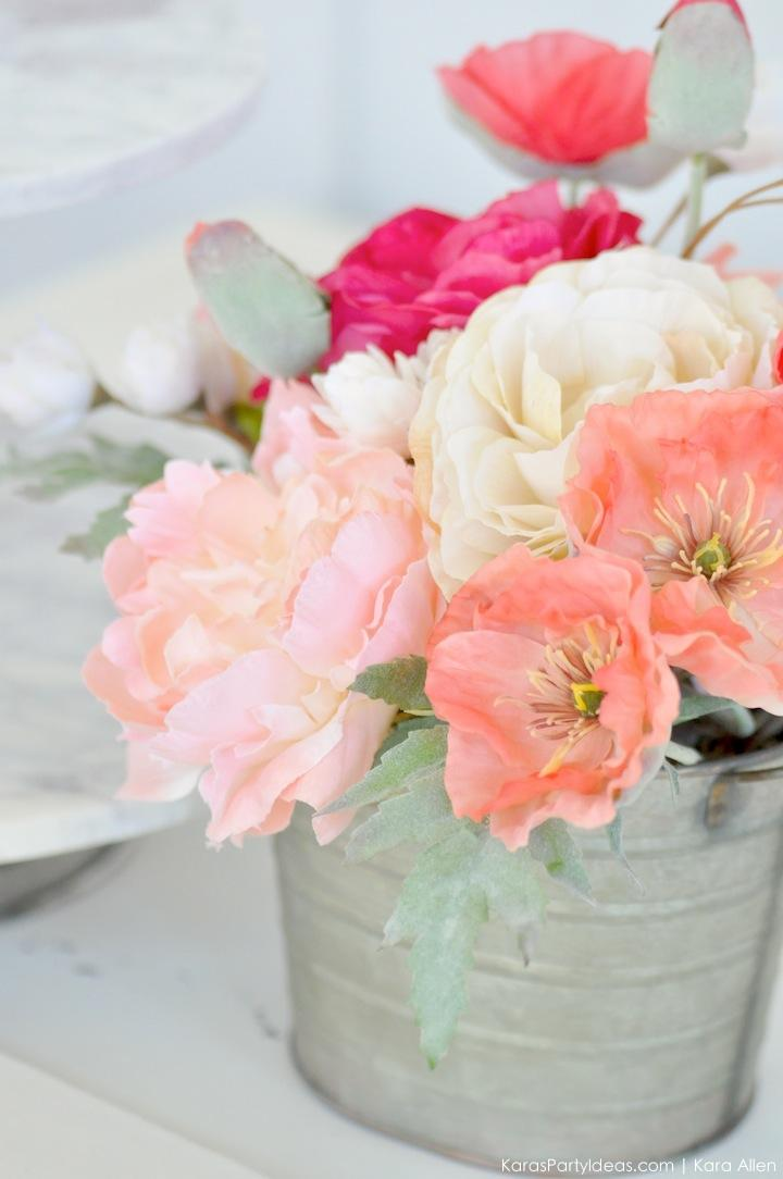Floral Design via Kara's Party Ideas | Kara Allen | KarasPartyIdeas.com 6