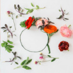 Floral Crown Details from a Flower Crown Crafting Party via Kara's Party Ideas | KarasPartyIdeas.com (2)