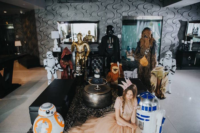 Star Wars Character Props from a Galactic Star Wars Themed Birthday Party via Kara's Party Ideas | KarasPartyIdeas.com (11)