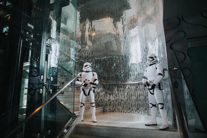 Storm Troopers from a Galactic Star Wars Themed Birthday Party via Kara's Party Ideas | KarasPartyIdeas.com (35)