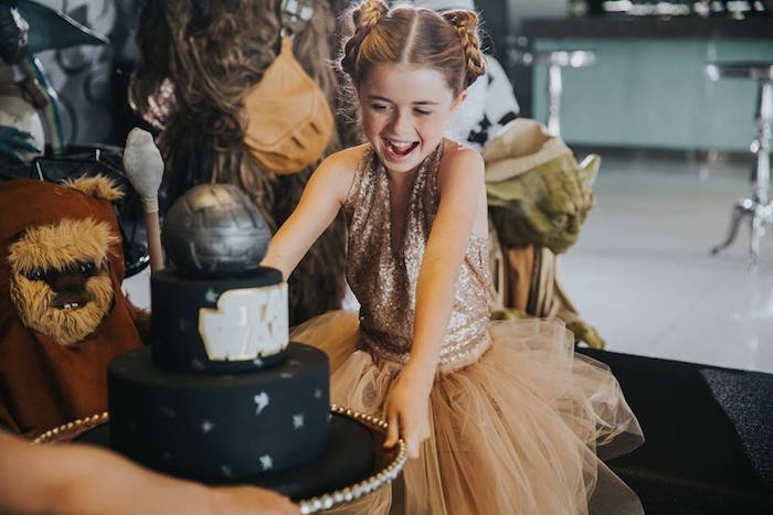 Party Image from a Galactic Star Wars Themed Birthday Party via Kara's Party Ideas | KarasPartyIdeas.com (30)