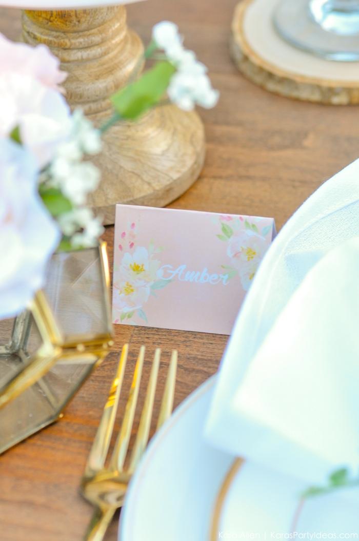 Garden Party Tablescape by Kara Allen | Kara's Party Ideas | KarasPartyIdeas.com for Canon-35