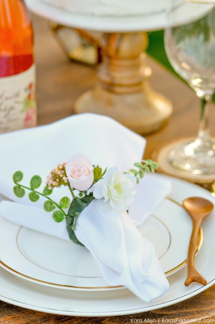 Garden Party Tablescape by Kara Allen | Kara's Party Ideas | KarasPartyIdeas.com for Canon-45