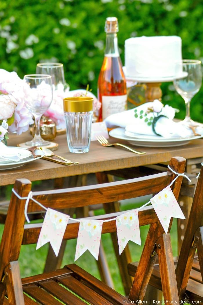Garden Party Tablescape by Kara Allen | Kara's Party Ideas | KarasPartyIdeas.com for Canon-49