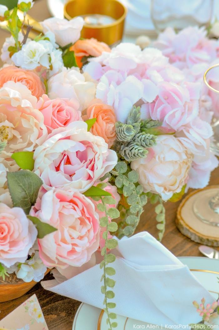 Garden Party Tablescape by Kara Allen | Kara's Party Ideas | KarasPartyIdeas.com for Canon-68
