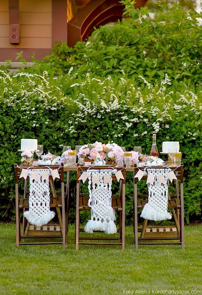 Garden Party Tablescape by Kara Allen | Kara's Party Ideas | KarasPartyIdeas.com for Canon-70