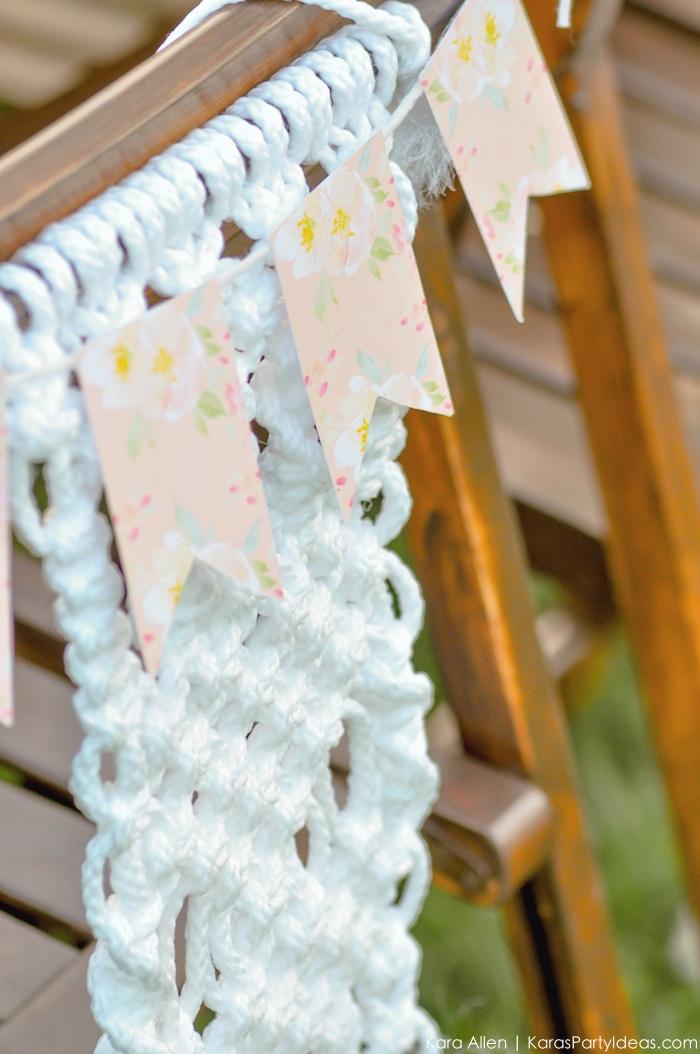 Garden Party Tablescape by Kara Allen | Kara's Party Ideas | KarasPartyIdeas.com for Canon-72