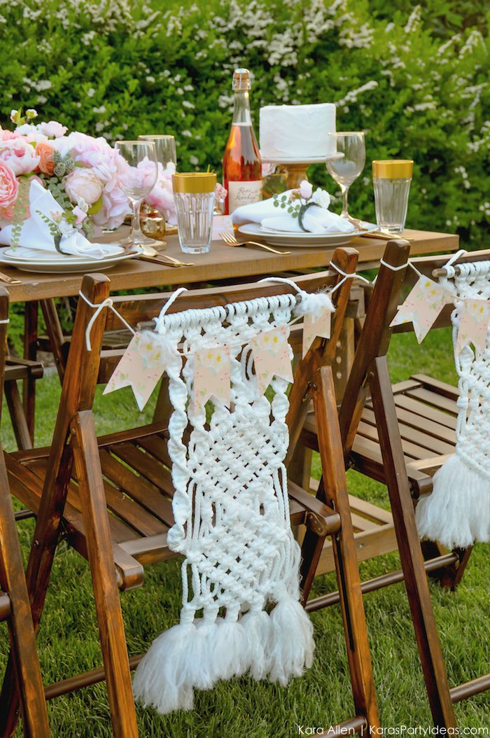Garden Party Tablescape by Kara Allen | Kara's Party Ideas | KarasPartyIdeas.com for Canon-81