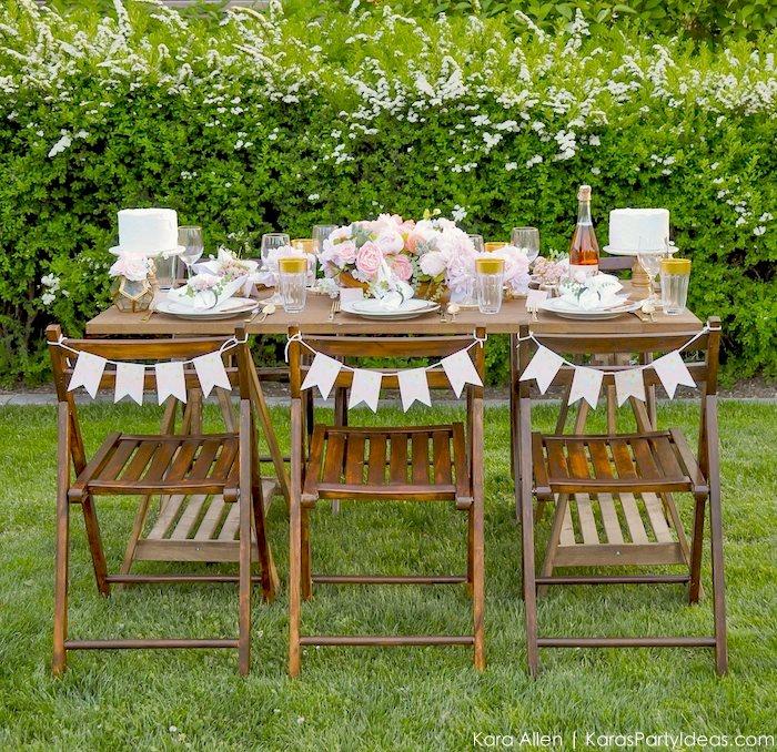 Garden Party Tablescape by Kara Allen | Kara's Party Ideas | KarasPartyIdeas.com for Canon-9 copy
