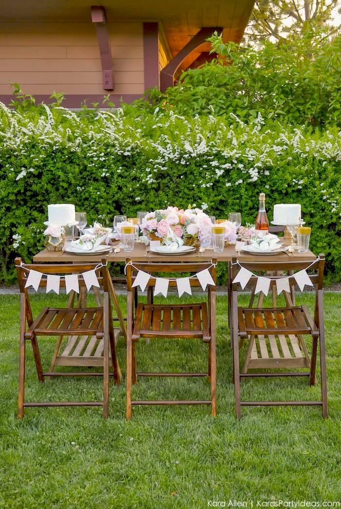 Garden Party Tablescape by Kara Allen | Kara's Party Ideas | KarasPartyIdeas.com for Canon-9