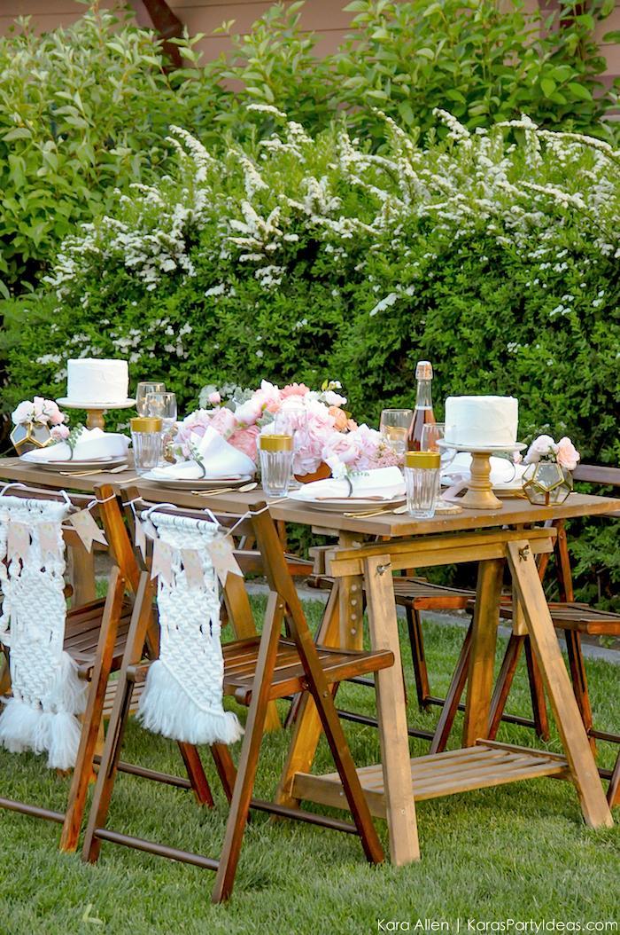Garden Party Tablescape by Kara Allen | Kara's Party Ideas | KarasPartyIdeas.com for Canon-90