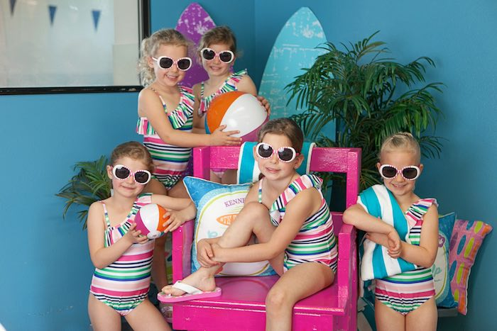 Photo Op from a Girly Surfing Party via Kara's Party Ideas | The Place for All Things Party! KarasPartyIdeas.com (10)