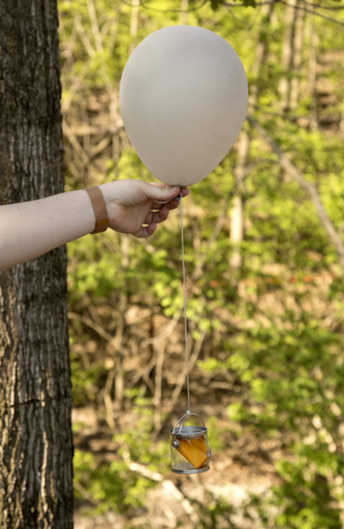 Balloon Object for the The Games from a Hunger Games Tween/Teen Birthday Party via Kara's Party Ideas | KarasPartyIdeas.com (3)