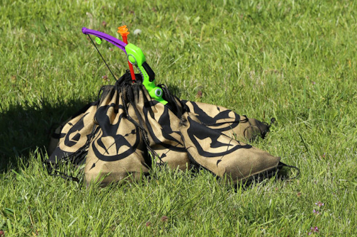"""Supply Packs for """"The Games"""" from a Hunger Games Tween/Teen Birthday Party via Kara's Party Ideas 