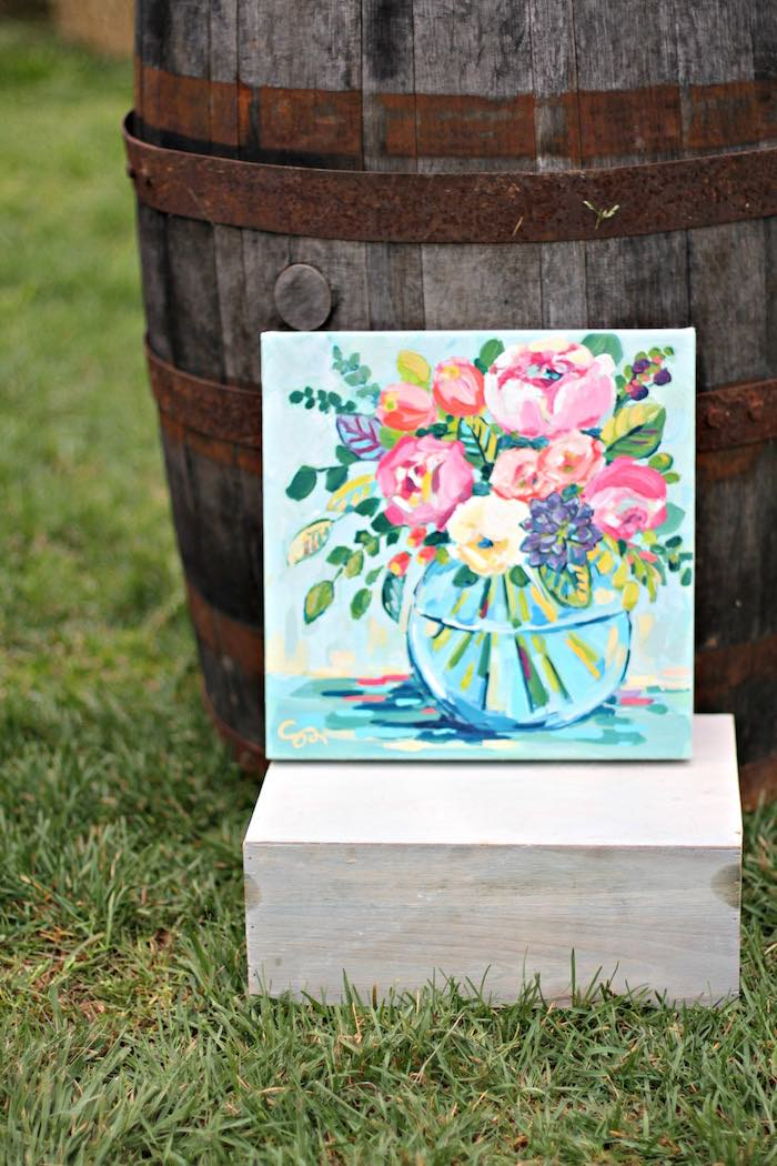 Artwork from a Kentucky Derby Garden Party via Kara's Party Ideas | KarasPartyIdeas.com (42)
